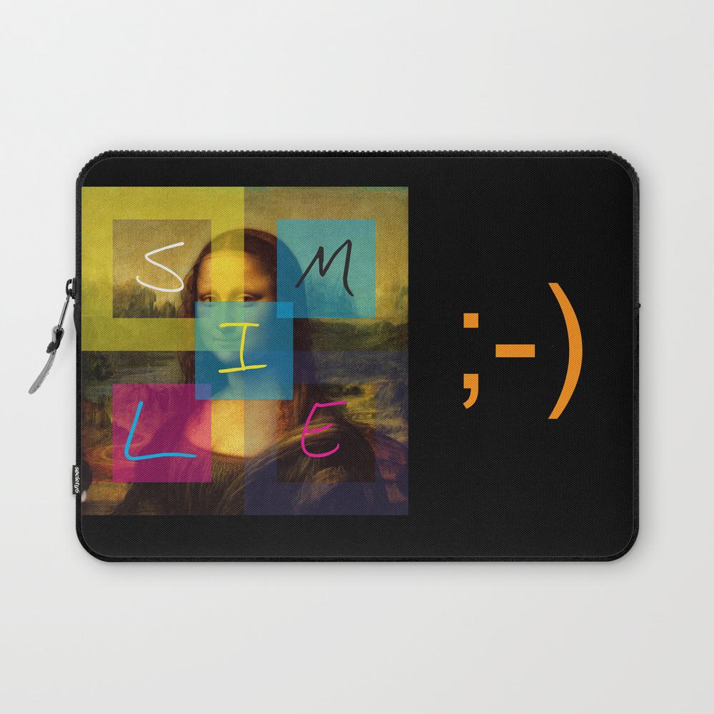 Mona Lisa Smile Laptop Sleeve LSV945876