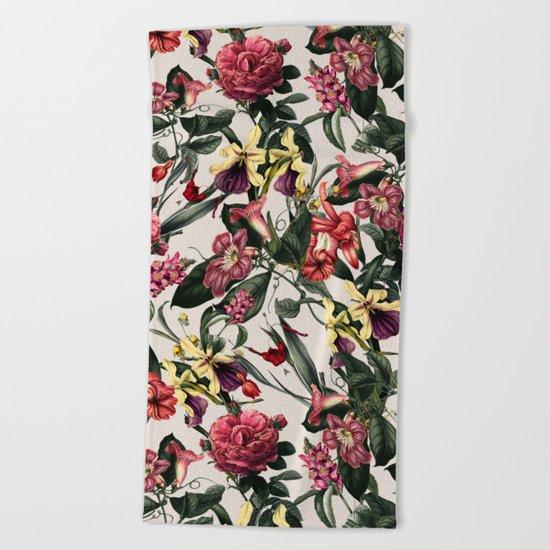 VS019 Botanical Garden Beach Towel
