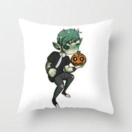 Antisepticeye Chibi Throw Pillow