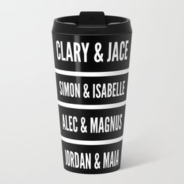Shadowhunters Characters Travel Mug