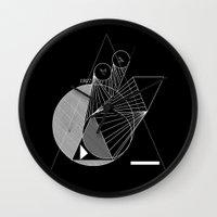 metropolis Wall Clocks featuring Metropolis by Federico Leocata LTD
