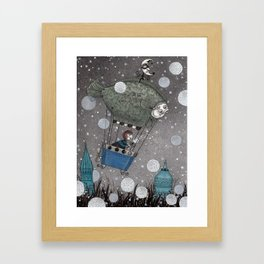 One Thousand and One Star Framed Art Print
