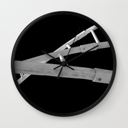 Playground Childs View Abstract Wall Clock