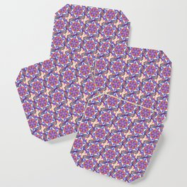 Atomic Pattern 2 Coaster