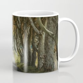 Dark Hedges alley in northern Ireland Coffee Mug