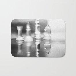 Chess filtered Bath Mat