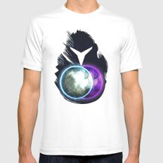 Metroid Prime 2: Echoes White Mens Fitted Tee MEDIUM