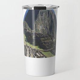 Machu Picchu - Geometric Photography Travel Mug