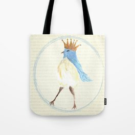 Queen of the Bluebirds Tote Bag