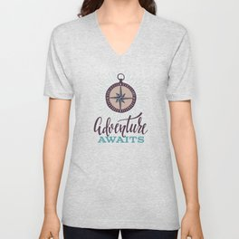 Adventure Awaits Unisex V-Neck