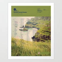 The Visual Mixtape 2010 | Broken Social Scene | 03 / 25 Art Print