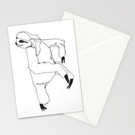 A Sloth Stationery Cards
