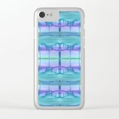 Ocean Zone Clear iPhone Case