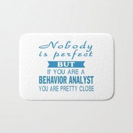 Behavior Analyst Bath Mat