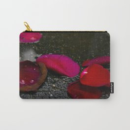 Rose Petals Carry-All Pouch
