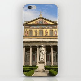 Basilica of St Paul Outside the Walls iPhone Skin