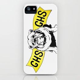 GHS Bulldogs iPhone Case