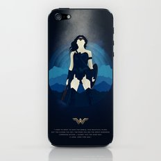 I used to want to save the world. - Diana Prince iPhone & iPod Skin