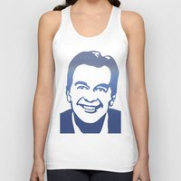 dick Tank Tops featuring Dick Clark by PSimages
