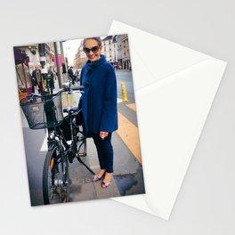 Parisian Mugshots - La Parisienne (Gueules de Parisiens) Stationery Cards