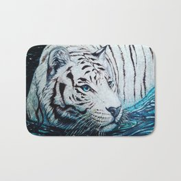 Tiger Painting Bath Mat