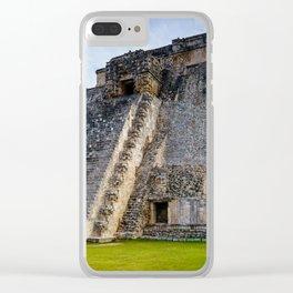 Uxmal Yucatan Mexico Clear iPhone Case
