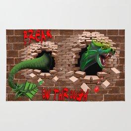 Break on Through Dragon Rug