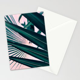Pink sunset in paradise Stationery Cards