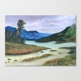 Mountain Overlook Canvas Print