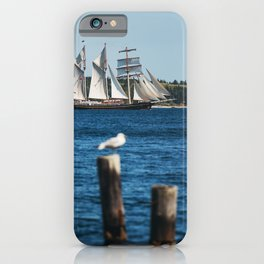 Tall Ship Gulden Leeuw iPhone Case