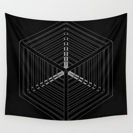 Cube Steps Wall Tapestry
