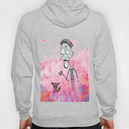 Little cat and the guy with ax, colors Hoody