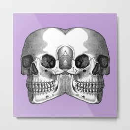 Double Trouble / LILAC Metal Print