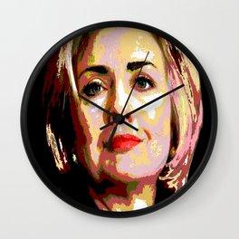 HILLARY CLINTON Wall Clock