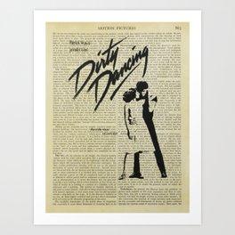 Dirty Dancing Art Print