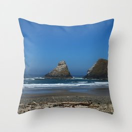 Admire Your Beauty Throw Pillow
