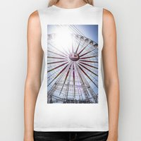 carnival Biker Tanks featuring CARNIVAL by Richard Torres Photo