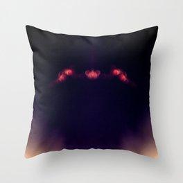 Blood Moon Shadow Throw Pillow