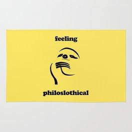 Feeling Philoslothical Rug