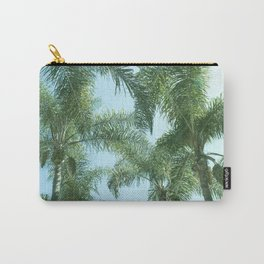 Nature photography tropical vibe vintage palm leaf I Carry-All Pouch