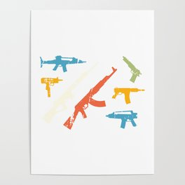 Automatic Rifles Poster