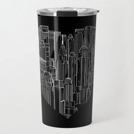 Heart Of Manhattan  Travel Mug