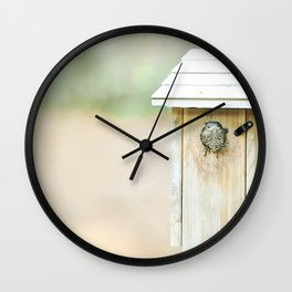Hello New World Wall Clock
