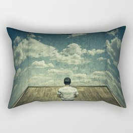 Time pressure Rectangular Pillow
