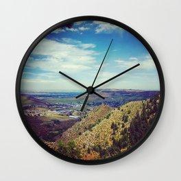 Mt. Galbraith - Golden, Colorado Wall Clock