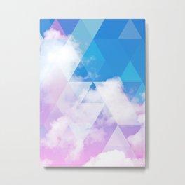 Sky Prism Metal Print