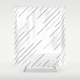 Clear start Shower Curtain