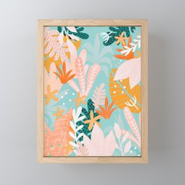 Into the jungle - dusk Framed Mini Art Print