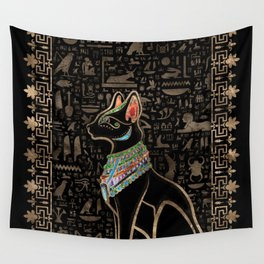 Egyptian Cat - Bastet  Wall Tapestry