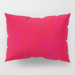 quantum waves red red Pillow Sham